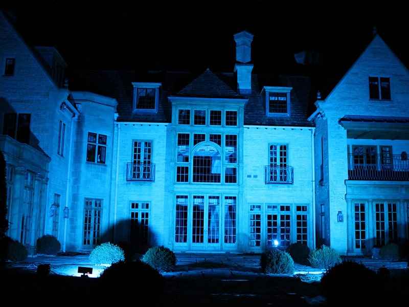 Blue-Manor-House