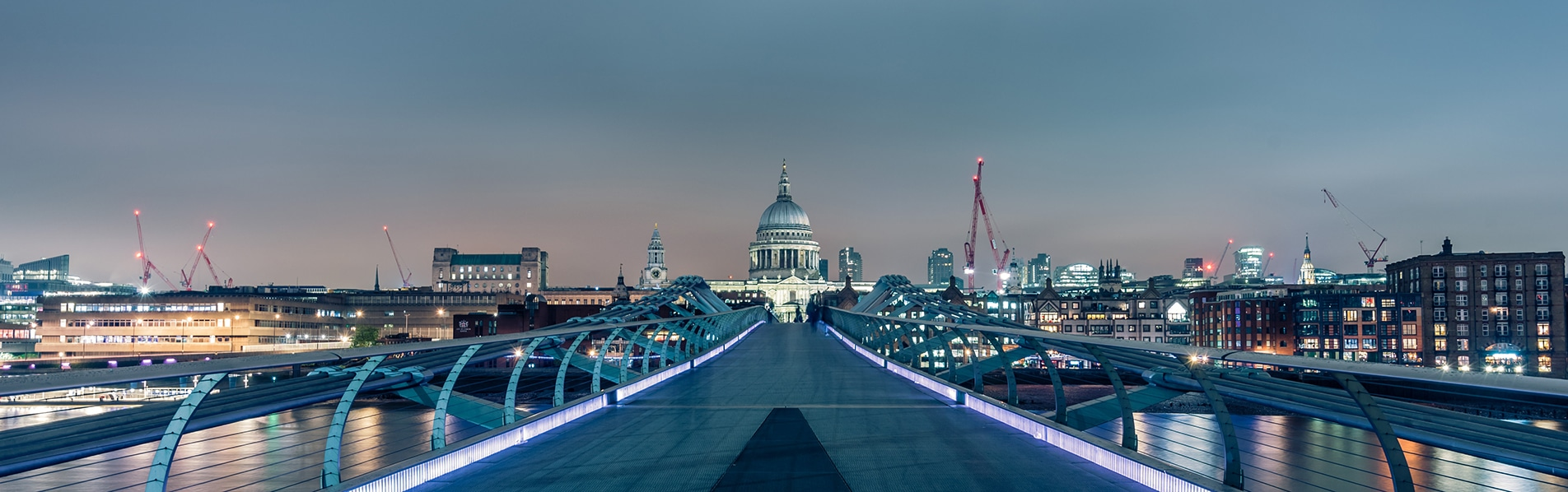 St Paul's Cathedral / Millennium Bridge